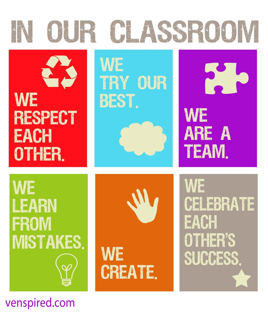 Classroom rules image